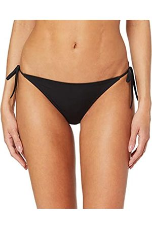Calvin Klein Women's Cheeky String Side Tie Bikini Bottoms, (PVH BEH)