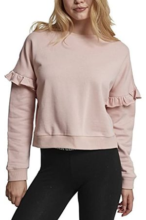Urban Classics Women's Ladies Oversize Volant Crewneck Jumper