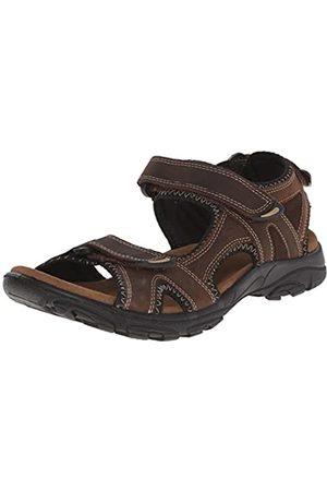 Kamik Men's Pier Sling Back Sandals, (Dark DBR)