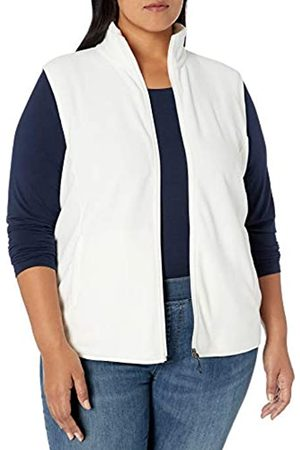 Amazon Essentials Plus Size Full-zip Polar Fleece Vest Ivory