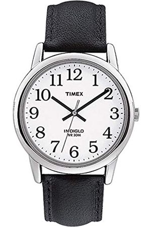 Timex Men's Easy Reader 38 mm Leather Strap Watch TW2P75600