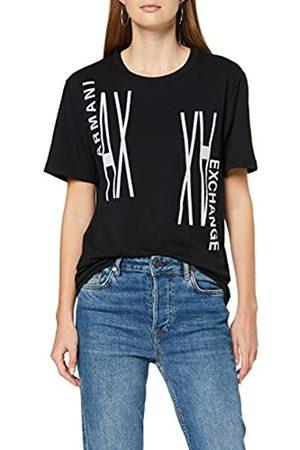 Armani Exchange Women's Mirror Logo T-Shirt