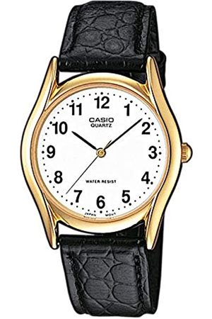 Casio Men's Analogue Quartz Watch with Leather Strap MTP-1154PQ-7BEF
