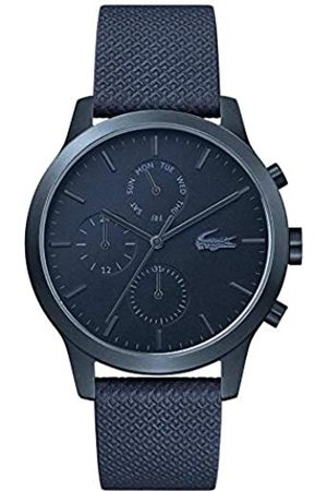 Lacoste Mens Multi dial Quartz Watch with Leather Strap 2010998
