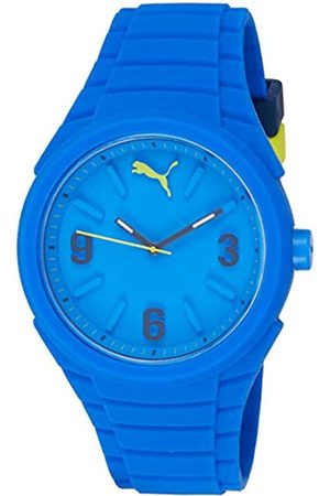 Puma Gummy Unisex Quartz Watch with Dial Analogue Display and Silicone Strap PU103592003