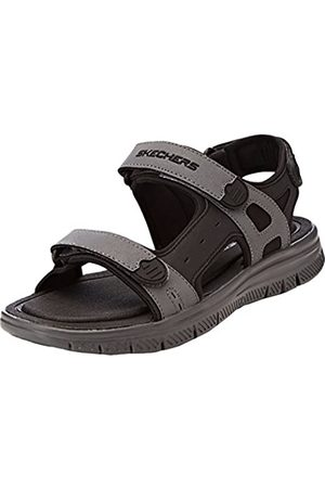 Skechers Men 51874 Ankle Strap Sandals, ( /CHARCOAL)