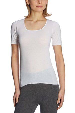 Schiesser Women's Luxury 1/2 Sleeve Underwear - - Weiß (100-weiss) - 10 (Brand size: S)
