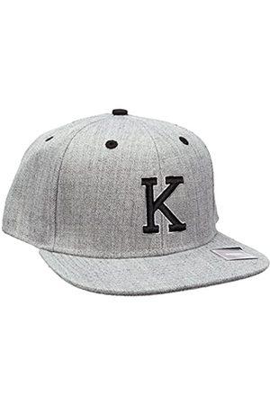 MSTRDS Letter Snapback K Baseball Cap, -Grau (K 1180,4626)