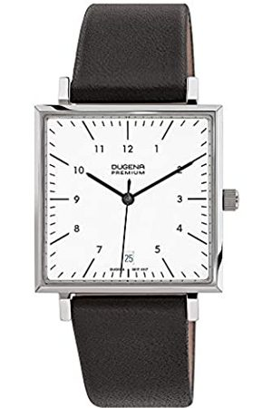 Dugena Premium Men's Quartz Watch Dessau Carree 7000142 with Leather Strap