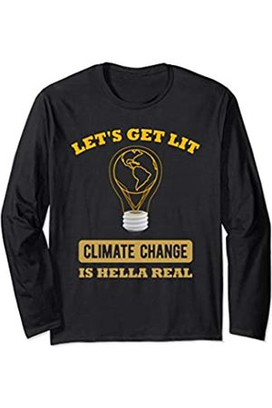 Climate Change Earth Day 2020 Apparel and Gifts Women Long Sleeve - Earth Day Gift Men Women Anti Climate Change Save The Planet Long Sleeve T-Shirt