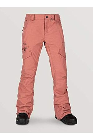 Volcom Women's Ashton Gore-tex Snow Pant - Pink - x-Large