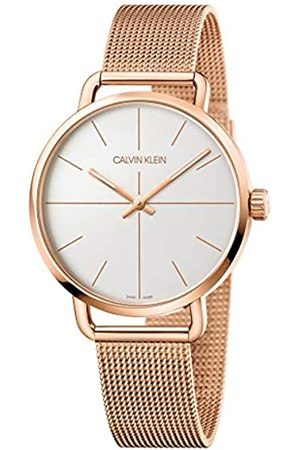 Calvin Klein Unisex Adult Analogue-Digital Quartz Watch with Stainless Steel Strap K7B21626