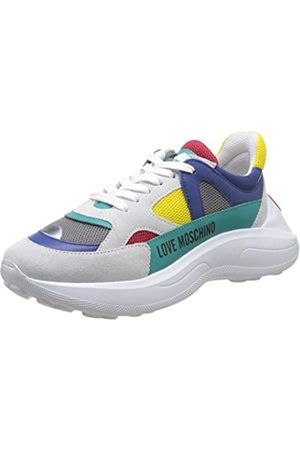 Love Moschino Women's Scarpad.running60 Rete Mix+cro+VIT Gymnastics Shoes, ( Mesh 40a)