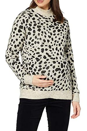 Dorothy Perkins Women's Step Hem Cheetah Jumper