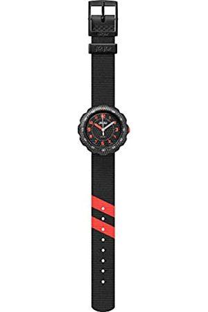 Flik Flak Boys Analogue Quartz Watch with Textile Strap FPSP032