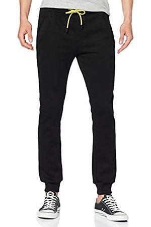 Urban Classics Men's Contrast Drawstring Sweatpants Sports Trousers