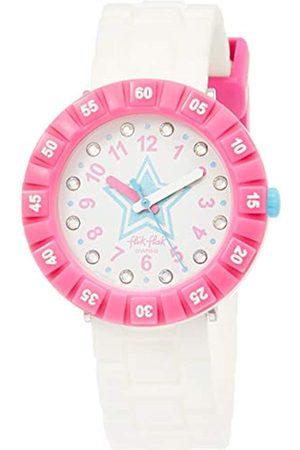 Flik Flak Girls Analogue Quartz Watch with Plastic Strap FCSP076