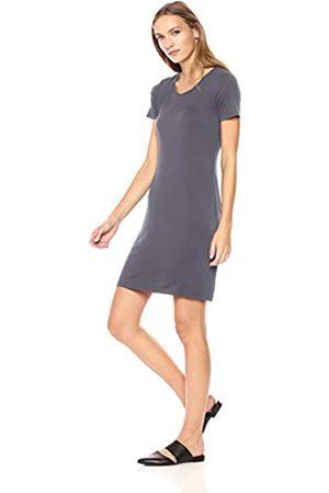 Daily Ritual Amazon Brand - Women's Standard Jersey Short-Sleeve Scoop Neck T-Shirt Dress XL