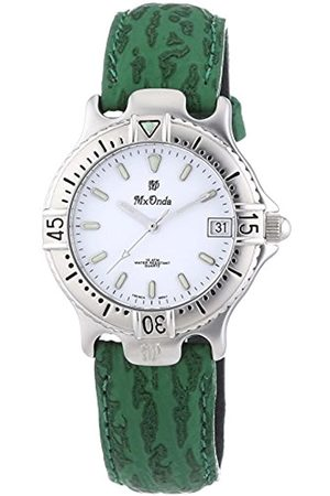 Mx Onda Women's Quartz Watch with Dial Display and Leather Strap 32-1200-15