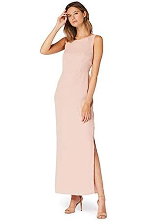 TRUTH & FABLE Amazon Brand - Women's Maxi Tie Back Dress, 8