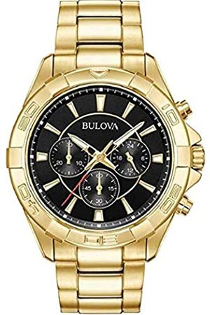 Bulova Mens Chronograph Quartz Watch with Stainless Steel Strap 97A139