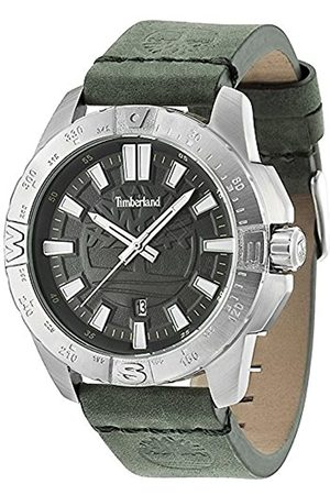 Timberland Men's Quartz Watch with Dial Analogue Display and Leather Strap 14532JS/61