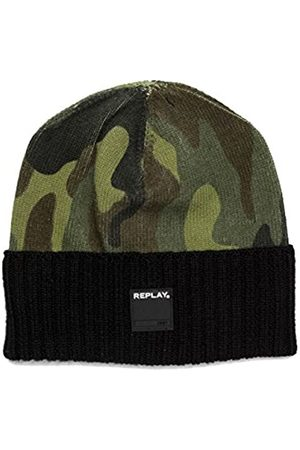 Replay Men's Am4162.000.a7005 Beanie, Multicoloured ( -Pino-Mil -Oil Gr 1163)