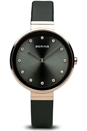 Bering Women's Analogue Quartz Watch with Textile Strap 12034-667