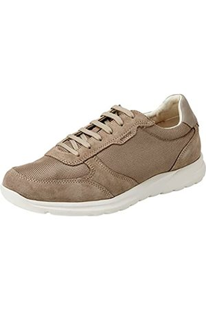 Geox Men's U Damian C Sneaker, Sand