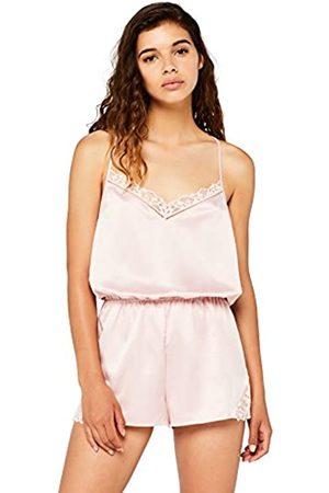 Iris & Lilly Women's Satin Pyjama Playsuit
