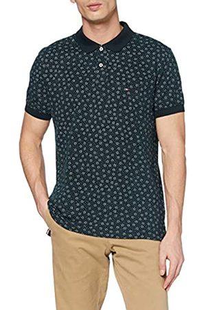 Tommy Hilfiger Men's Buoy Print Regular Polo Shirt
