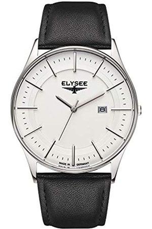 ELYSEE Men's 83015L Classic-Edition Analog Display Quartz Black Watch