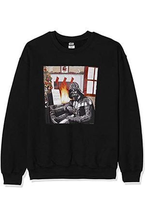 Star Wars Men's Christmas Darth Vader Piano Player Sweatshirt