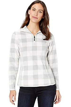 Amazon Essentials Quarter-zip Polar Fleece Jacket Soft / Large Buffalo Plaid