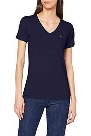 Tommy Jeans Women's TJW Shortsleeve Stretch TEE Sports Knitwear