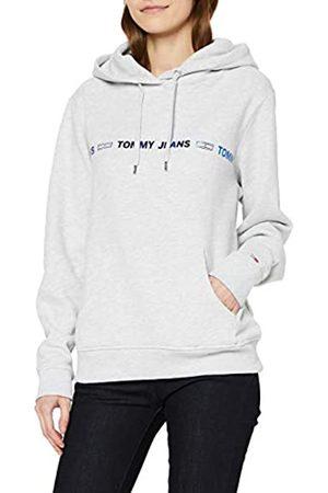 Tommy Hilfiger Women's TJW Linear Logo Hoodie Cardigan