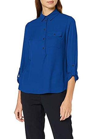 Dorothy Perkins Women's Coblt Roll SLV Shirt