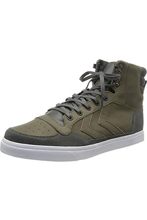 Hummel Unisex Adults' Stadil Winter Hi-Top Trainers, (Castle Rock 2600)