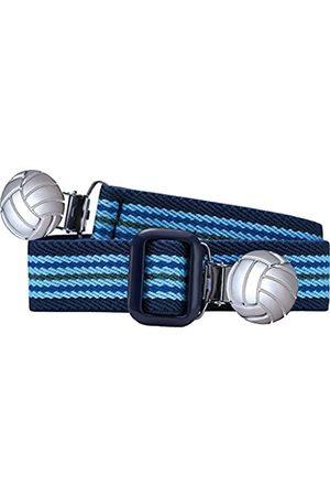 Playshoes Elastik-Gürtel Fußball-Clip Ringel Belt