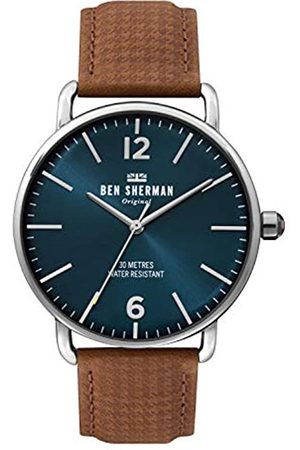 Ben Sherman Mens Analogue Classic Quartz Watch with Leather Strap WB026T