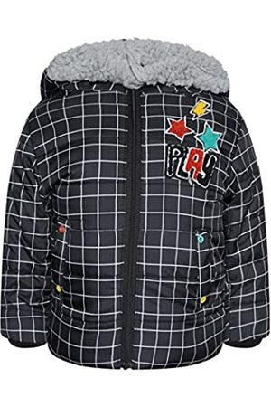 Tuc Tuc Hood Soft Pile Parka for BOY Chalk Paint