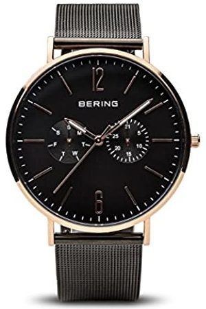 Bering Mens Analogue Quartz Watch with Stainless Steel Strap 14240-163
