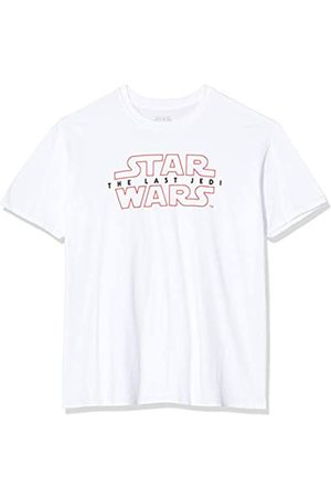 Star Wars Men's Last Jedi Logo T-Shirt, White