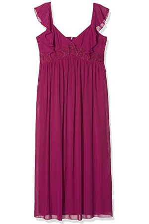 Little Mistress Women's Nikki Lace and Frill Maxi Dress Party