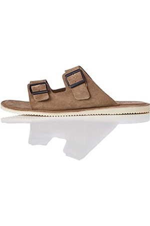 find. Amazon Brand - Men's Open Toe Sandals, (Ash )