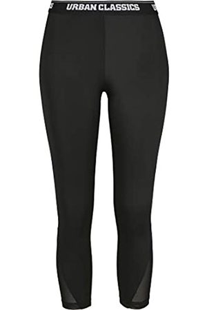 Urban classics Women's Leggings Ladies Tech Mesh Pedal Pusher Hose Dress Pants