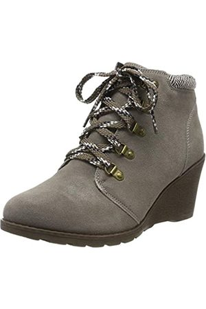 Skechers Women's TUMBLE WEED Ankle boots, (Taupe Suede/Chenille Line Tpe)