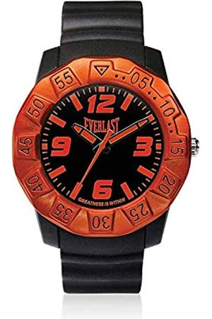 Everlast Unisex Adult Analogue Quartz Watch with PU Strap EVER33-218-002