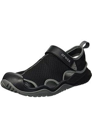 Crocs Men's M Swiftwater Mesh Deck Sandal Closed Toe
