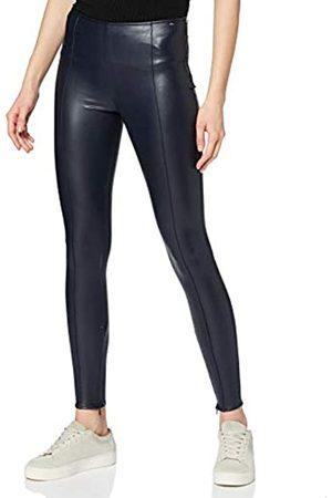 Armani Exchange Women's Stretch Eco Leather Leggings